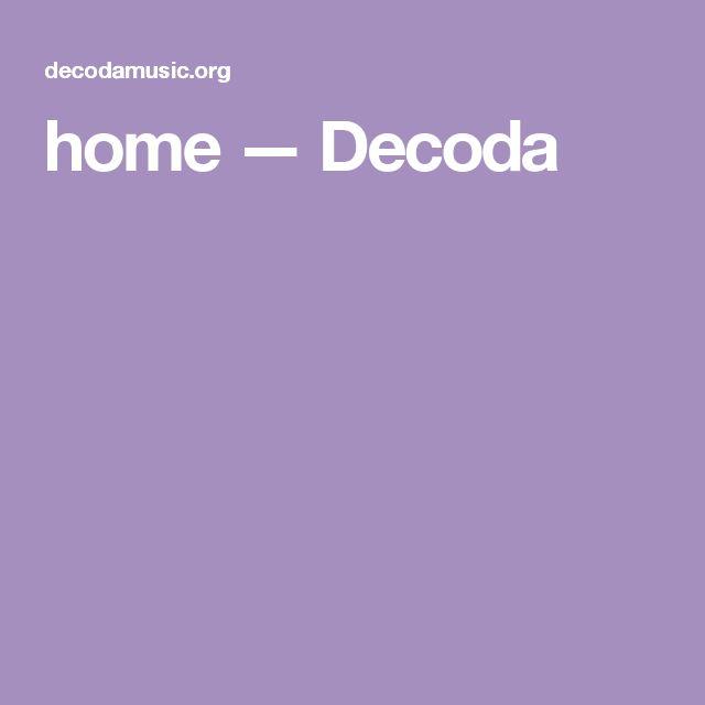 De I Coda Music Ensemble...and so much more...