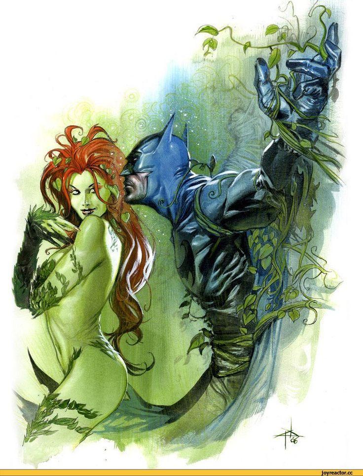 Batman,Poison Ivy  Супергеройно И Не Очень  Superhero -2364