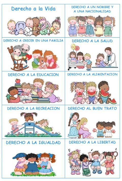 Imágenes sobre los derechos del niño | Manualidades Infantiles