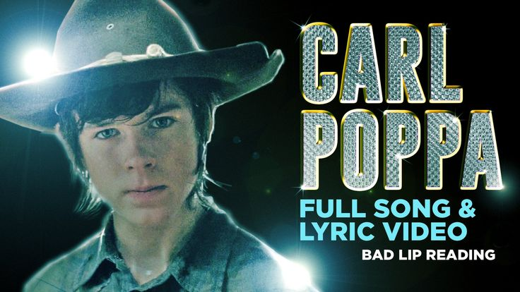 Lyric video of Carl's song from The Walking Dead Season 4 --- This is great if you're a TWD fan..lol