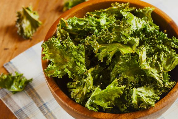 Basic Baked Kale Chips