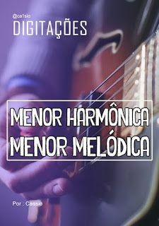 Baixe o EBOOK , digitações das escalas Menor harmônica e menor melódica .   Grande abraço ... #ebook #music #musica #guitarra #violão #auladeguitarra #auladeviolao #pdfs #dicas #workshop #clinic #Improvisação #guitar #guitarlesson #musician