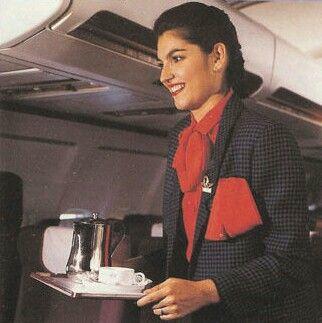 Royal Air Maroc Stewardess 1991