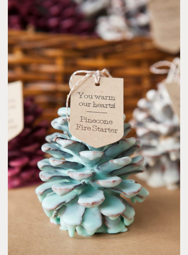 Love the colors! Awesome DIY winter wedding favor ~ we ❤ this! moncheribridals.com