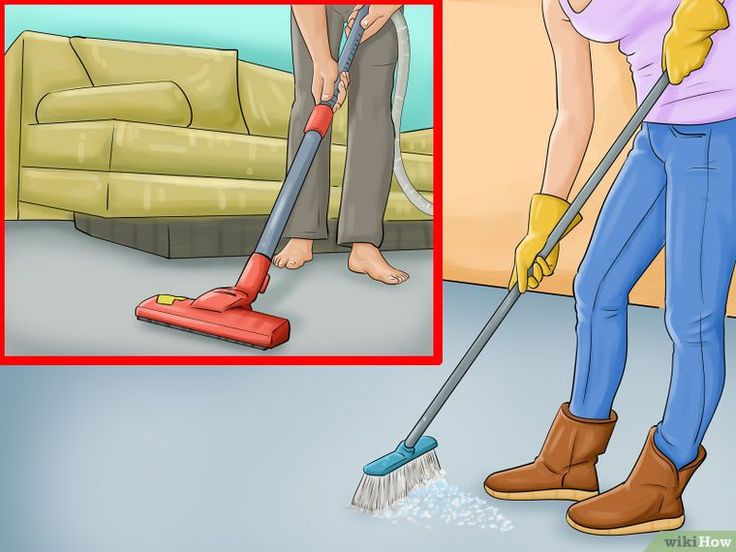 How to Clean Concrete Floors (with Pictures) - wikiHow