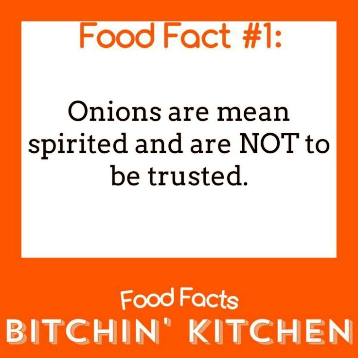 Today's #FoodFact is about nasty Onions. (Pretend this tomato emoji is an #Onion) 🍅 #BitchinKitchen