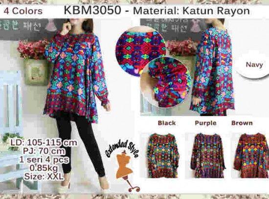 Model Blus Katun KBM3050
