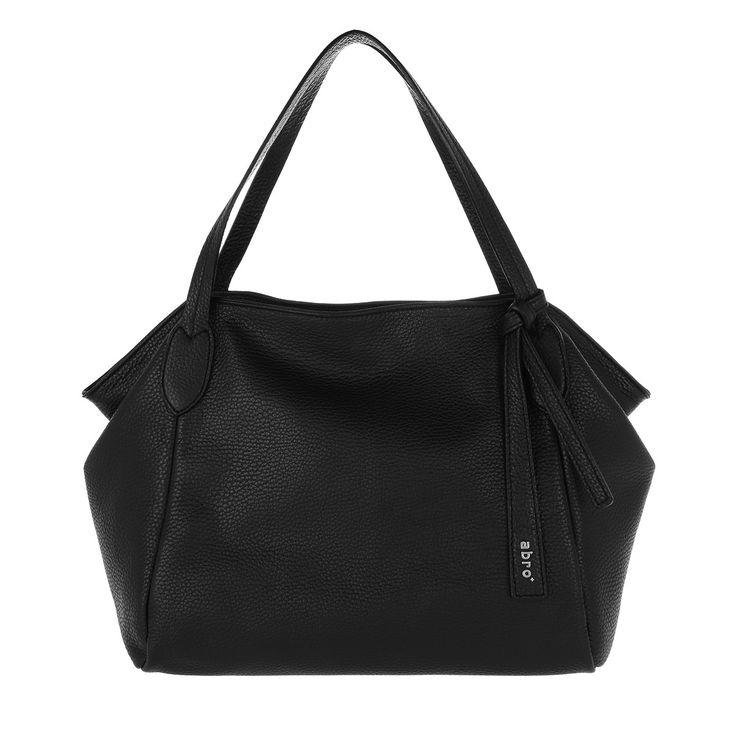 Handtasche, Abro, Adria Tote Leather Black/Nickel