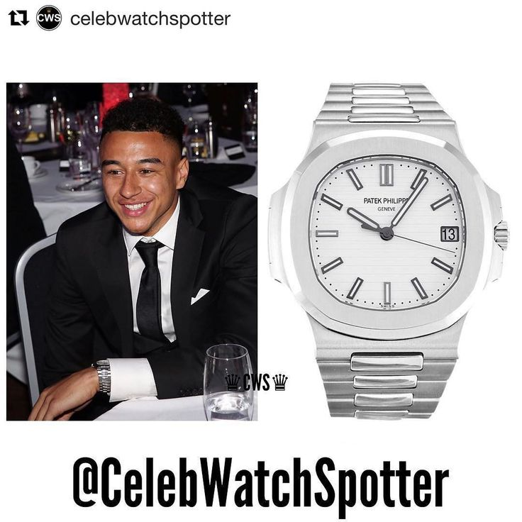 #Repost @celebwatchspotter (@get_repost) ・・・ Tonight was the Manchester United Player of the year awards. Football player for Manchester United; Jesse Lingard was spotted wearing a Patek Philippe Nautilus with a White Dial. Reference-5711 ⌚️⚽️ @jesselingard •••••••••••••••••••••••••••••••••••••••••••••••••••••• Price -UK Price List-£18,030  #CelebWatches ••••••••••••••••••••••••••••••••••••••••••••••••• #watch #watches #celebrities #celebrity #fashion #patek #rolex #richardmille #rolexgang…