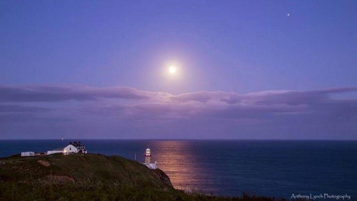 A June full moon near Dublin, Ireland --- by Anthony Lynch Photography