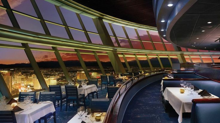 Went to the top of the world restaurant in Vegas it is so cool the food is delicious and their double baked potato and the restaurant moves in a circle very slowly and it's really cool to see something new every time u move definitely recommend eating there for a special occasion