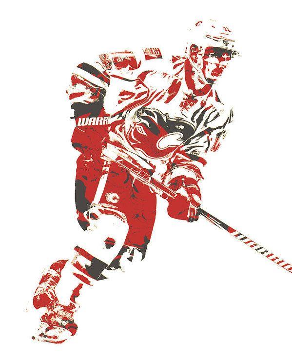 Johnny Gaudreau Calgary Flames Pixel Art 1 Art Print By Joe Hamilton Pixel Art Joe Hamilton Calgary Flames