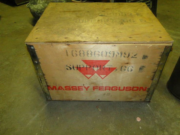 My Massey Could Use A Toy Box Vintage Massey Ferguson