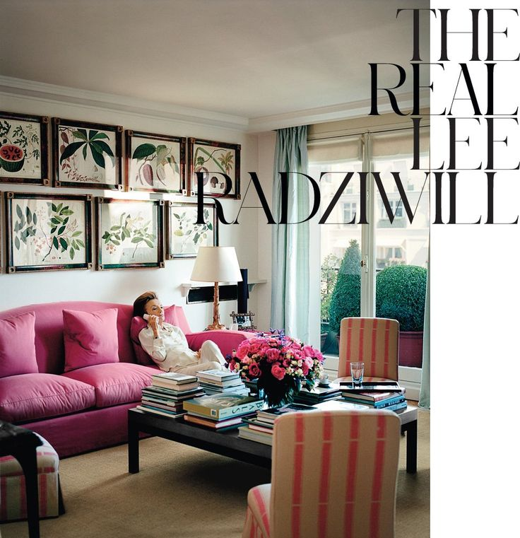 Feminine Room: The Real Lee Radziwill - Interactive Feature - T Magazine