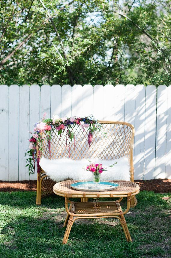 Hipster Backyard Bbq :  backyard hangs on Pinterest  Flower chandelier, Hipster bride and