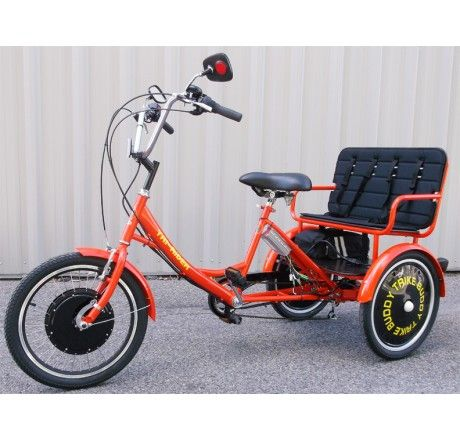 Buddy Trike - 2 Passenger 6 Speed Electric Tricycle