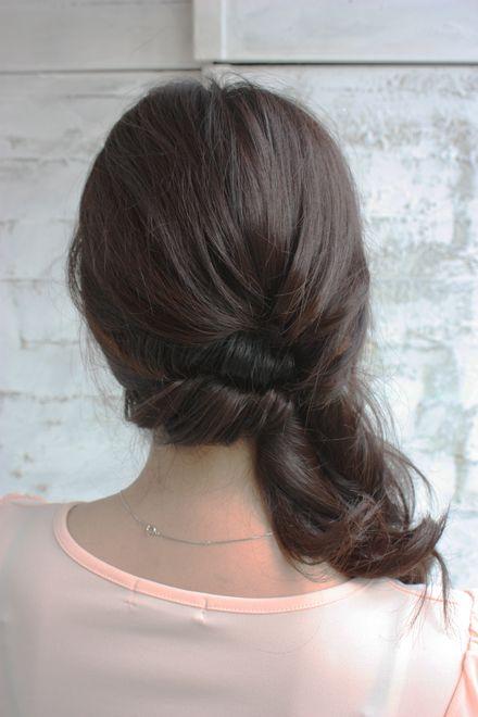落ち着き+色気 立体サイド寄せヘア♡ 合コンにしていきたいヘアスタイルまとめ。髪型・アレンジ・カットの参考に☆