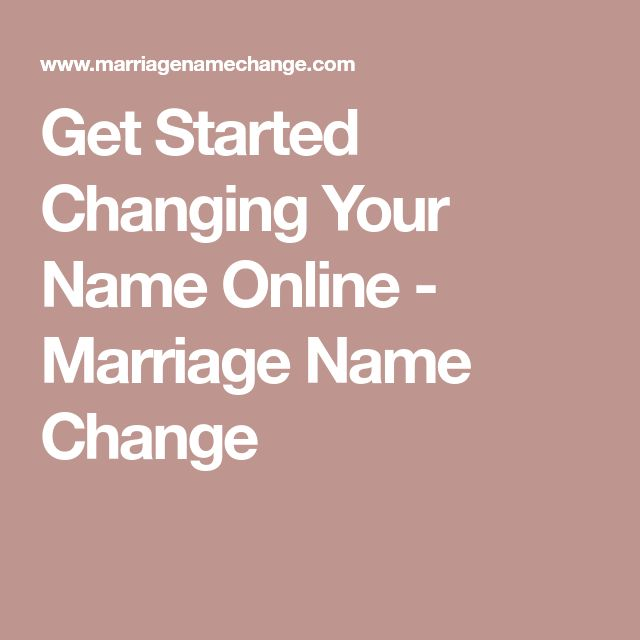 The  Best Marriage Name Change Ideas On   Name Change