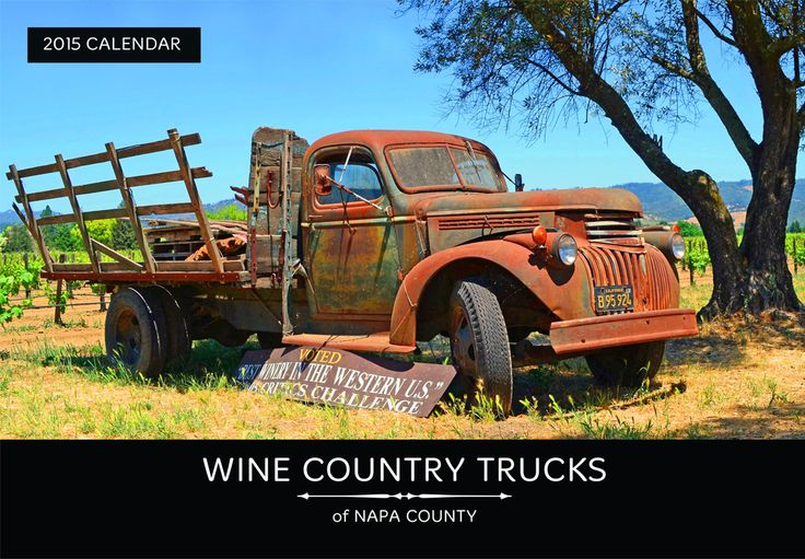 wine calendar - wine trucks of Napa County