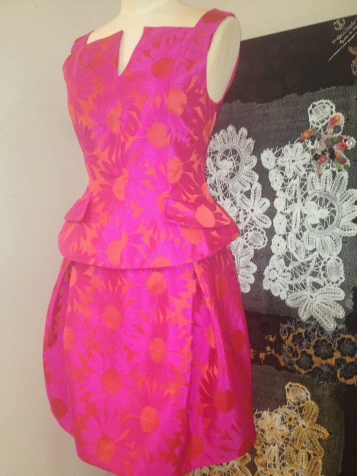 Trelise Cooper 'Peplum Moment' dress, available now at Trelise Cooper Wellington