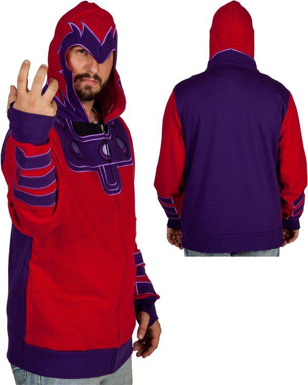 Magneto Costume Hoodie $60