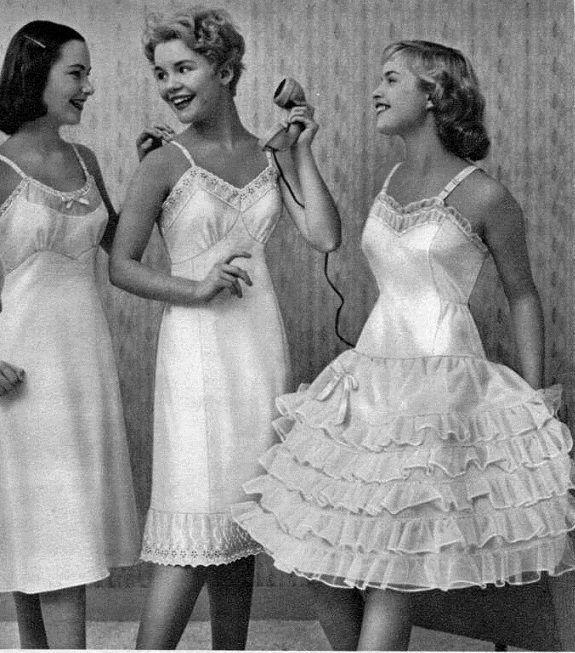 192 Best Lingerie 1950s Images On Pinterest Vintage