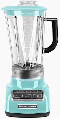 Aqua Sky Blue KitchenAid Vortex Blender ~ shopping online saves you time and money!