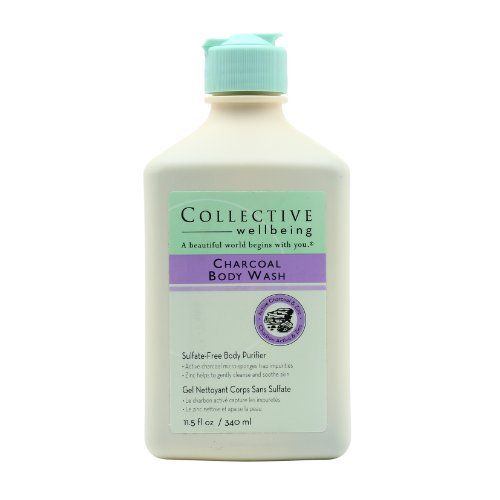 Collective Wellbeing Charcoal Body Wash, 11.5 Ounce by Collective Wellbeing. Save 74 Off!. $10.39. Sulfate-free. Use to cleanse and de-toxify. From the collective wellbeing collection. Contains zinc. Sulfate-free body purifier that cleanses and detoxifies your entire body.If you were to look at active charcoal under a magnifier, you would see tiny, super sponges that effectively soak up virtually all impurities that pass through it. Zinc, a natural antibacterial, soothes, aids healing, ...