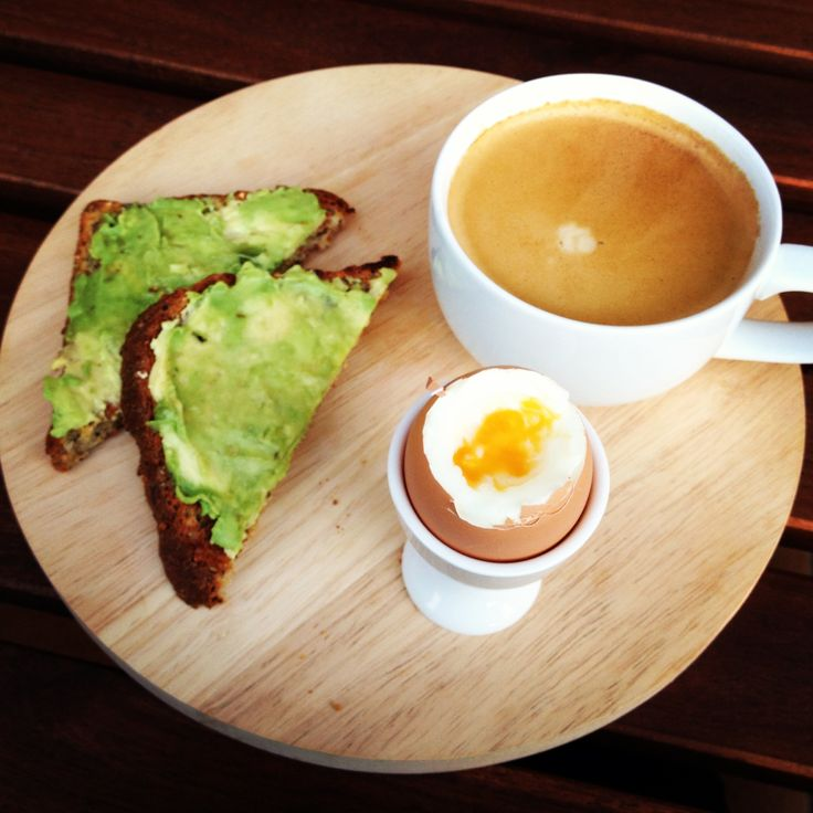 Love a simple breakfast! Quick & Easy Boiled Egg with Avocado Toast - heaven!!!