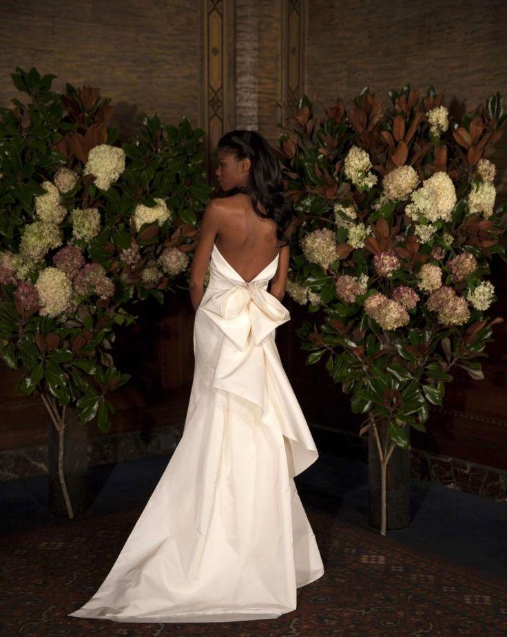 Gentry Bow Back Gown | Austin Scarlett