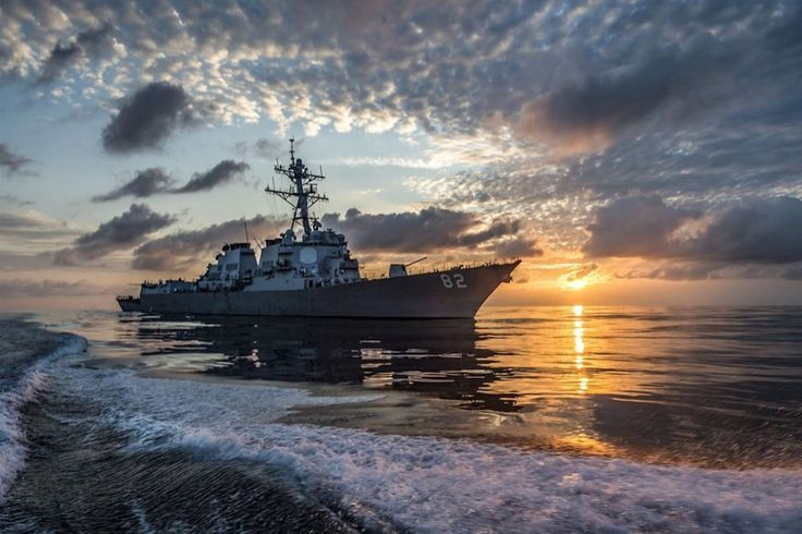 The guided-missile destroyer USS Lassen patrols the eastern Pacific Ocean, March 10, 2016. The Lassen was supporting Operation Martillo with the US Coast Guard and partner nations within the US 4th Fleet area of responsibility. (Navy photo by Petty Officer 2nd Class Huey D. Younger Jr.)  via @AOL_Lifestyle Read more: https://www.aol.com/article/news/2017/03/02/trump-points-to-job-creation-as-new-reason-for-military-buildup/21872268/?a_dgi=aolshare_pinterest#fullscreen