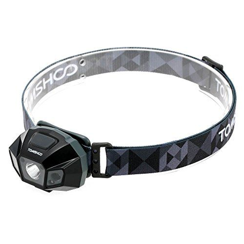 TOMSHOO Super Bright LED Headlamp High Power Flashlight Water Resistance USB Cable Rechargeable Headlight Lamp for Biking Camping Climbing Other Outdoor Activities ** To view further for this item, visit the image link.