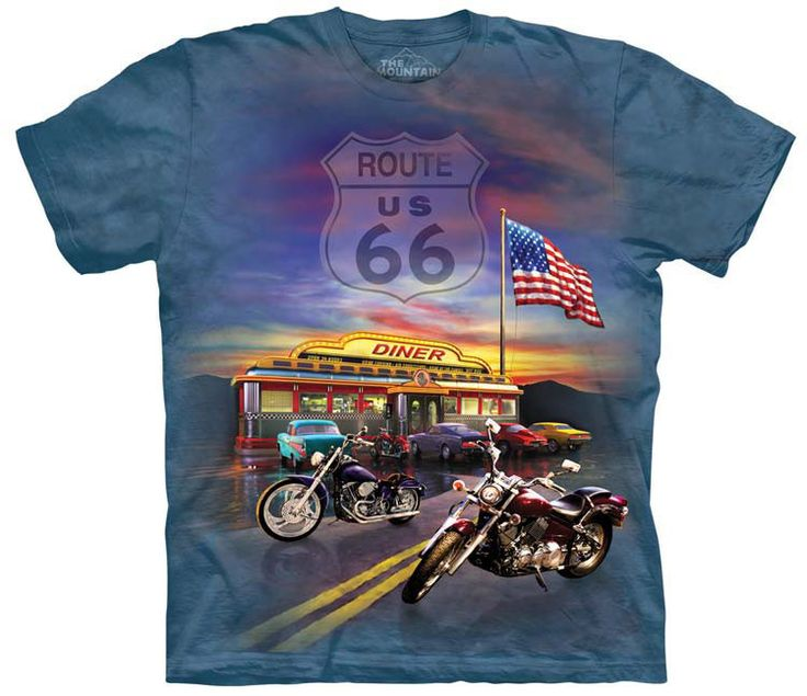 Patriotic T-Shirt | Route 66 Adult