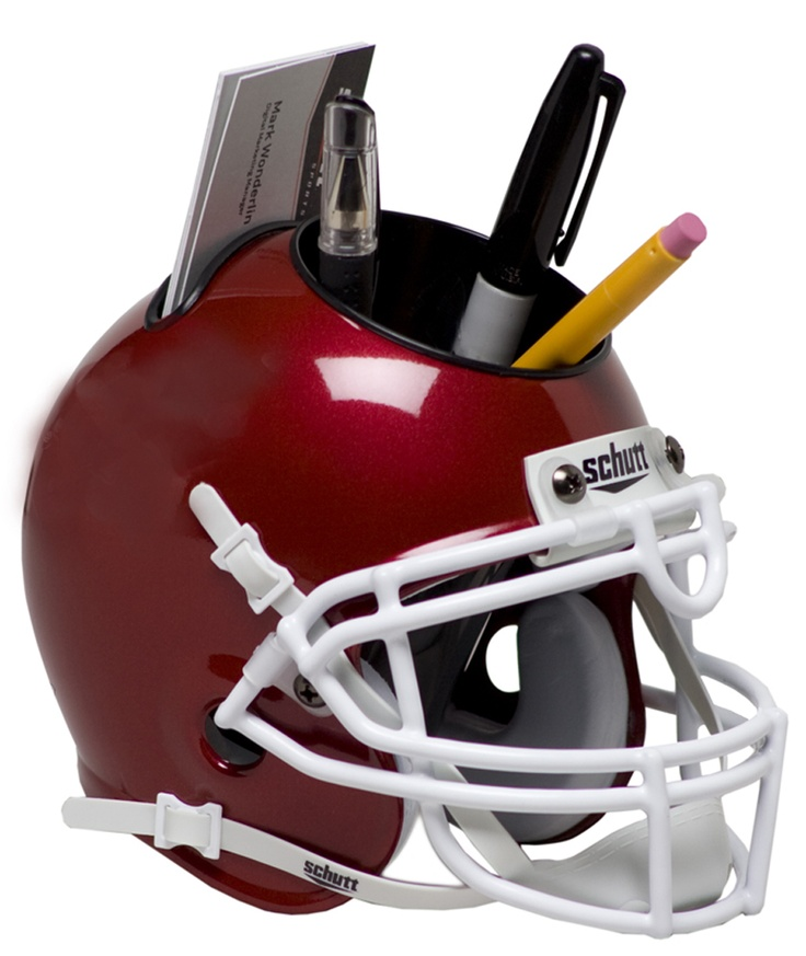 Promotional Products Mini football helmet desk caddy