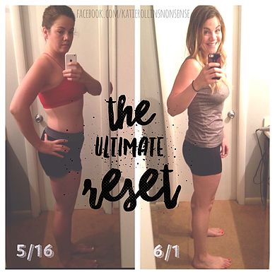 My Experience with the Ultimate Reset! How I ate my way to my happy weight again!  Eff You Mom Jeans - Katie Rollins