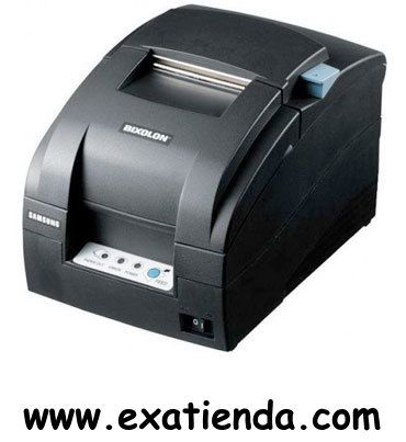 Ya disponible Impresora Samsung ticket srp 275 apg paralelo/negra    (por sólo 177.95 € IVA incluído):   -Tipo: Matricial 9 agujas -Conexión: Paralelo -Color: negro -Resolución: 160 x 144 ppp -Velocidad de Impresión: 5.1 lin/seg -Alimentacion: 24V -Dimensiones: 160x239x157 -Otros: acepta rollos de papel de 3 anchuras: 57 mm, 69 mm y 76 mm    Garantía de fabricante  http://www.exabyteinformatica.com/tienda/2668-impresora-samsung-ticket-srp-275-apg-paralelo-negra #impre