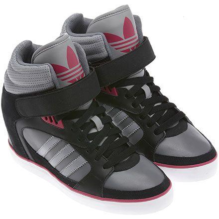 Tênis AMBERLIGHT HEEL W, Black / Blaze Pink / Aluminium, pdp