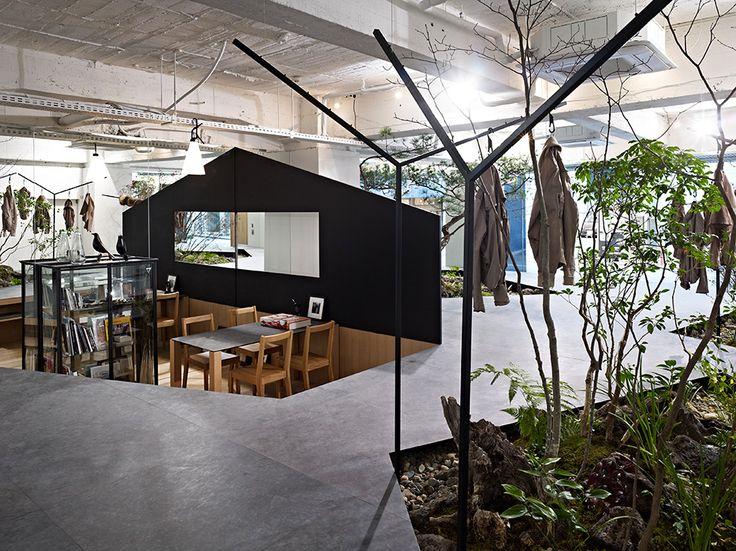 Yuko Nagayama & Associates in collaboration with landscape designer Toshiya Ogino