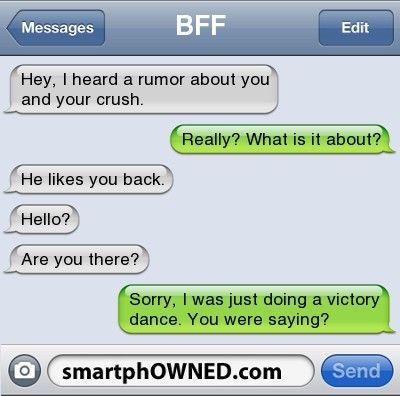 Lol this would be me... chances are that my crush would never like me back but whatever