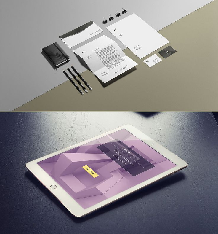 Free mock-up package, for your next projectPresentation never - project presentation