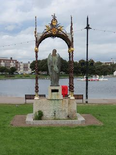 Emmanuel Memorial Drinking Fountain, Canoe Lake, Southsea.