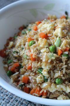Azie Kitchen: Chinese Style Nasi Goreng Sedap dan Mudah