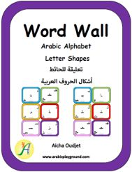 Word Wall – Arabic Alphabet Letter Shapes