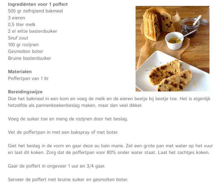 Groningse cake poffert....