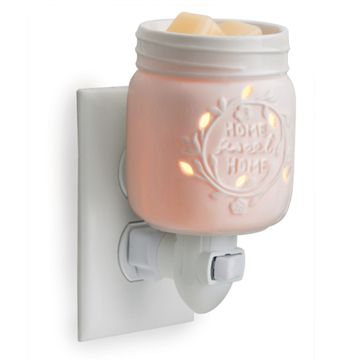 Mason Jar Plug In Wax Warmer