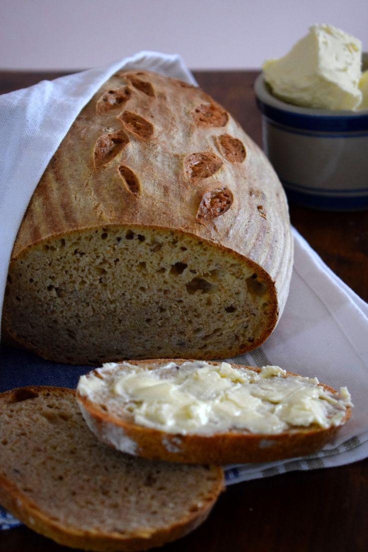 Podmáslový chléb s domácím máslem – DOBROTY DO BŘÍŠKA