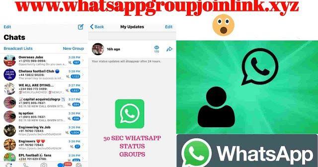 Join 30 Sec Status Whatsapp Groups 30 Sec Status Whatsapp