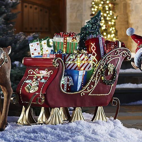 129 best Front Yard Landscape Christmas Decor images on Pinterest - large christmas decorations