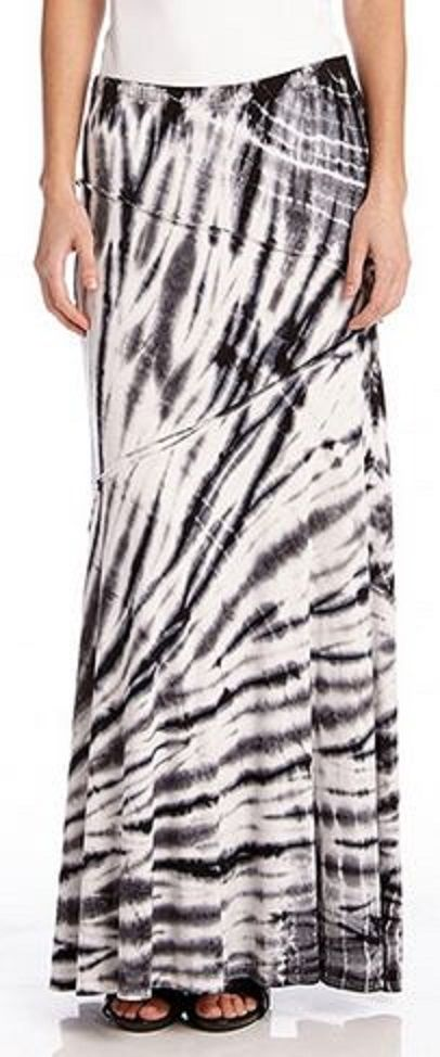 Love ...love...LOVE this Shades of Grey Tie Dye Stretch Jersey Reverse Seam Maxi Skirt #tie_dye #maxi_skirt #fashion SOMETHING I LUV
