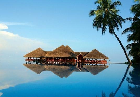 Privat villa og all-inclusive ved drømmeresort på Maldivene